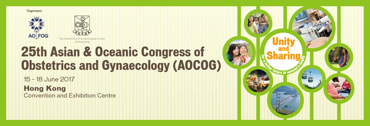 25th ASIAN and OCEANIC CONGRESS of OBSTETRICS and GYNAECOLOGY (AOCOG)