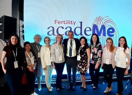 Inna Moroz, fertility specialist of the ISIDA clinic, visited the conference of reproductive specialists that took place in Spain